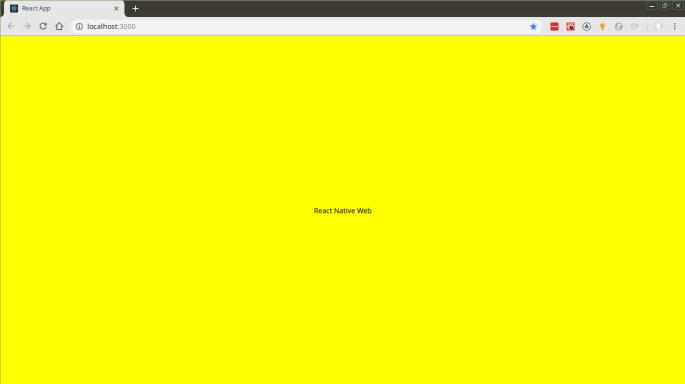 Configurando React Native Web + React Native Vector Icons + React